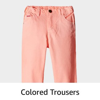 Colured Trousers