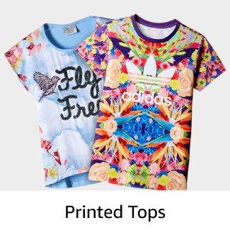Printed Tops