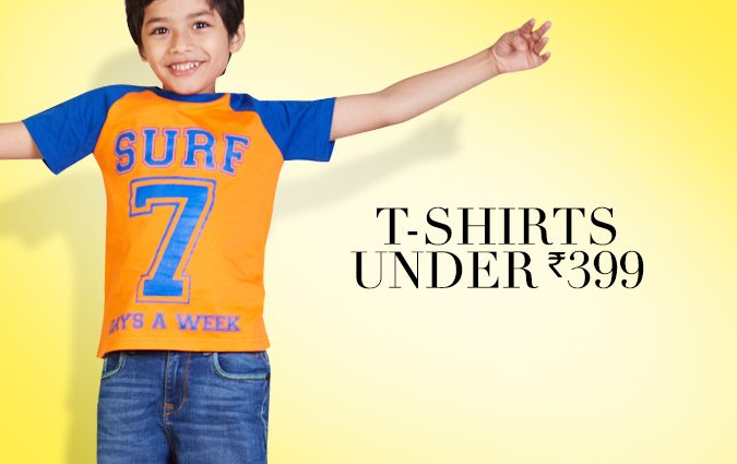 t-shirts under Rs. 399