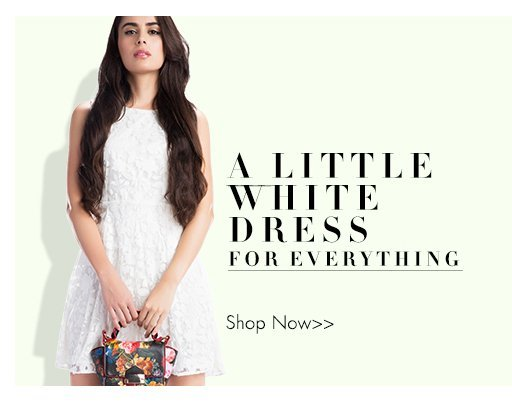 A little white dress for everything