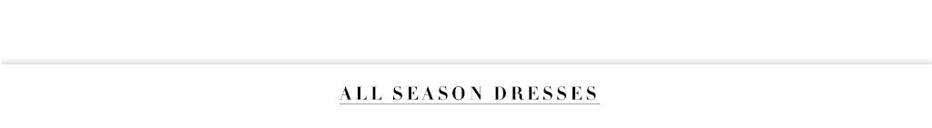 All season dresses