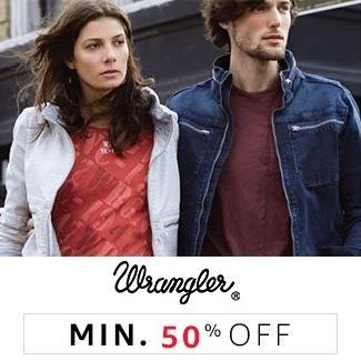 Wrangler Min 50% off