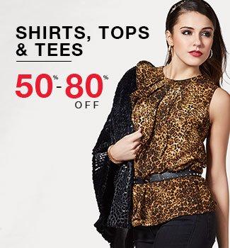 Shirts, tops & tees