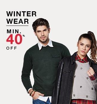 Winterwear Minimum 40% off