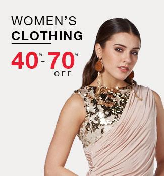women's clothing 40% - 70% off