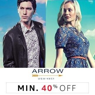 Arrow min 40% off