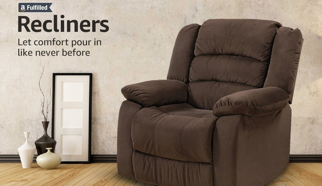 Recliners  Let comfort pour in like never before. Furniture   Buy Furniture Online at Low Prices in India   Amazon in