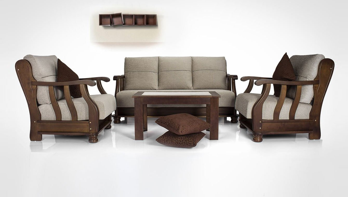Wooden Sofa Sets For Living Room Sofas Buy Sofas Couches Online At Best Prices In India Amazonin