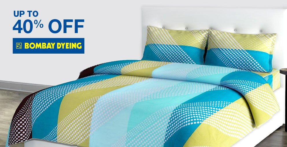 Bombay Dyeing: Up to 40% off