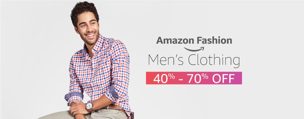 Men's Clothing 40% - 70% off
