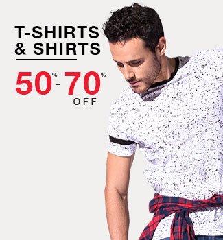 Men's T-Shirts & Shirts