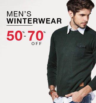 Men's Jackets, Sweaters & Sweatshirts