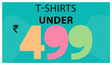 T-shirts under Rs. 499