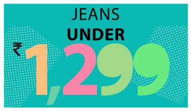 Jeans Under Rs 1299