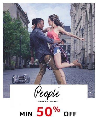 People Min 50% off