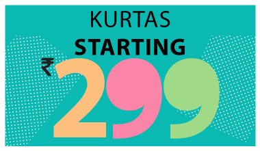 Kurtas Starting Rs. 299