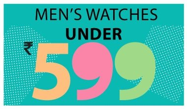 Mens Watches Under Rs. 599