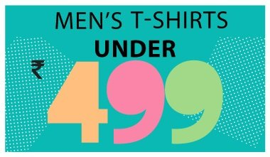 Men's T-shirts Under Rs 499