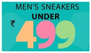 Mens Sneakers Under Rs. 499