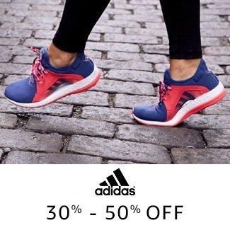 Adidas: 30% - 50% off