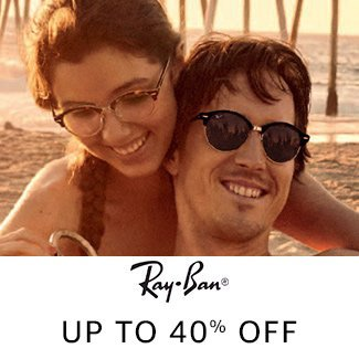 Ray-Ban: Up to 40% off