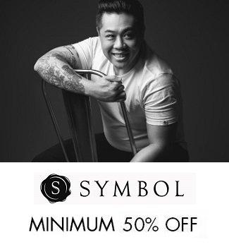 symbol min 50% off