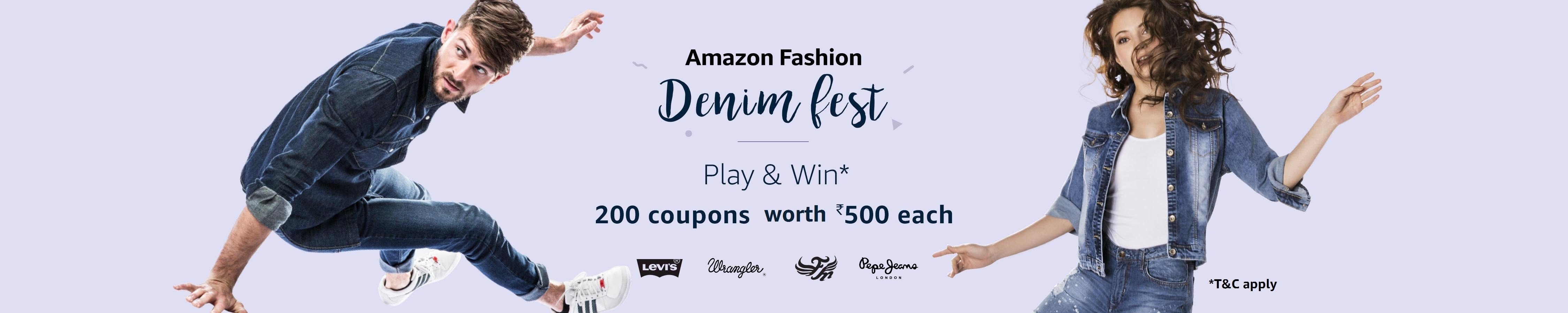 denim fest play and win