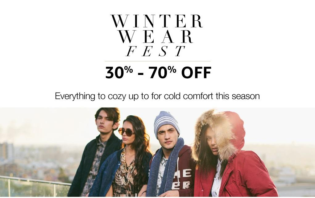 Amazon: Winter Wear Fest – 30% to 70% OFF