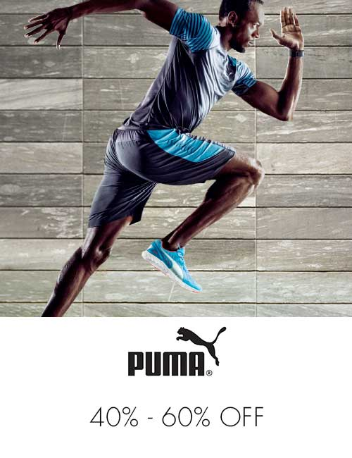 Puma 50% off or more