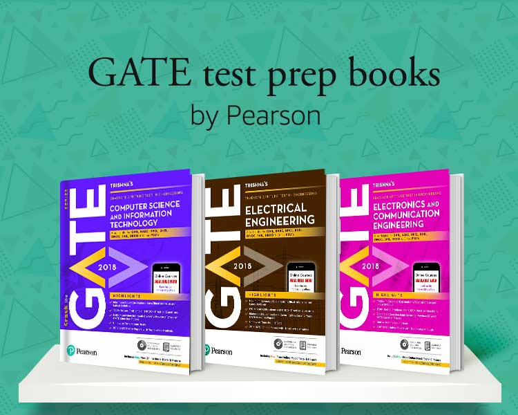 GATE test prep books by Pearson