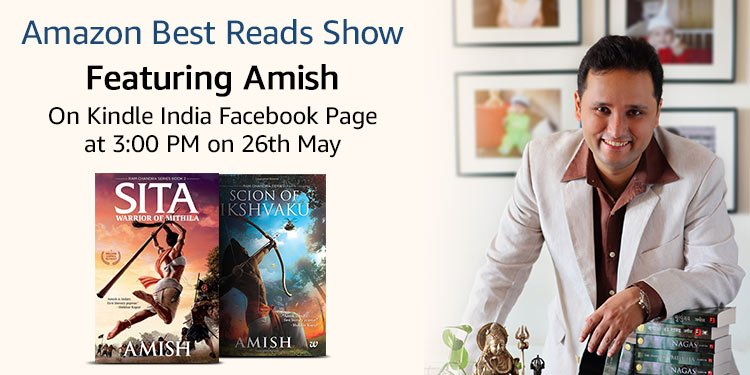 Facebook Live with Amish