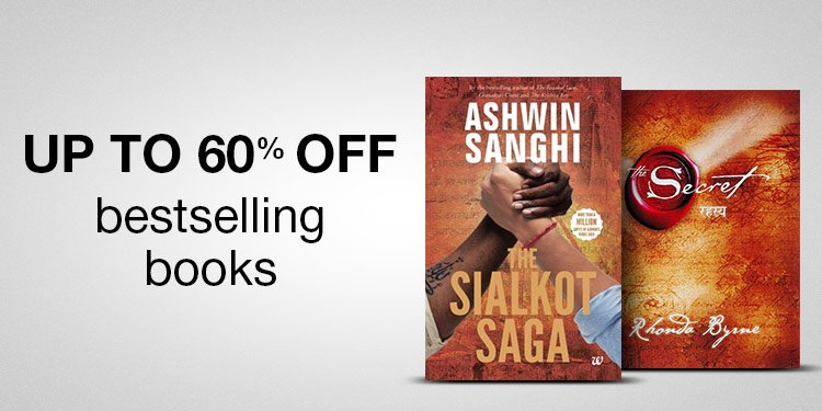 Books: up to 60% off