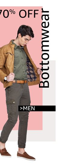Bottomwear for men