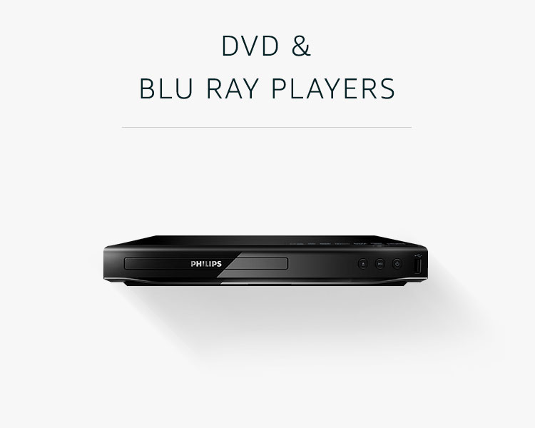 DVD and Blu ray players