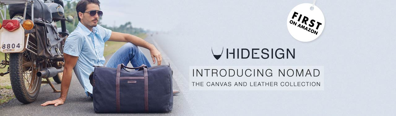 Hidesign Canvas & Leather Collection