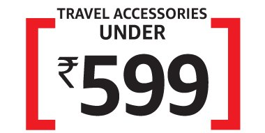 Travel Accessories: Under Rs 599