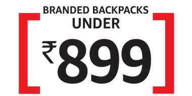 Branded Backpacks : Under Rs 899
