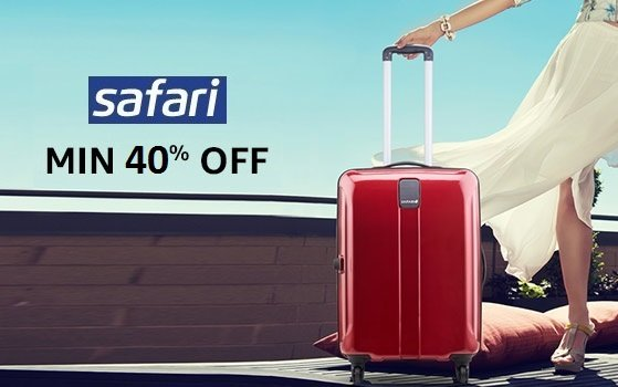 Amazon Backpacks & Luggage Fest : Grab Minimum 40-70% Off Branded Luggages + FREE Shipping low price image 7