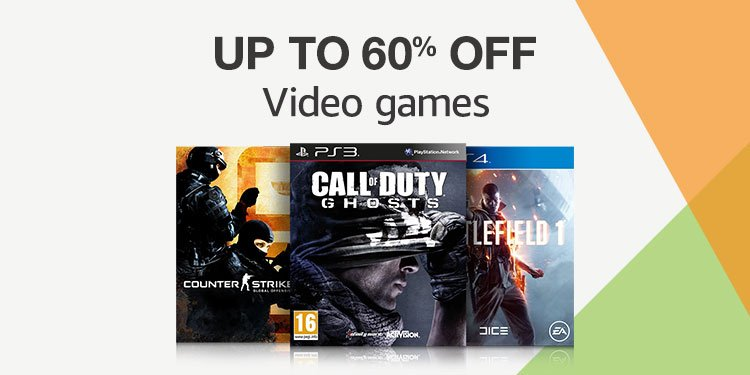 Up to 60% off video games