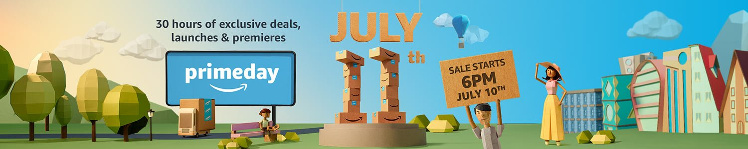 Prime day starts July 10th at 6PM | The year's biggest Prime celebration exclusively for members