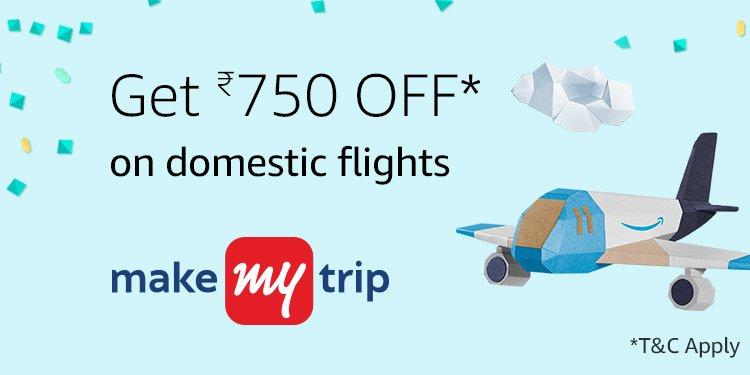 Get Rs.750 off domestic flights