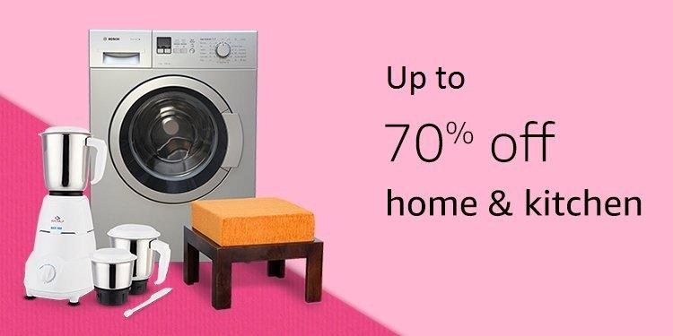 70% off home & kitchen