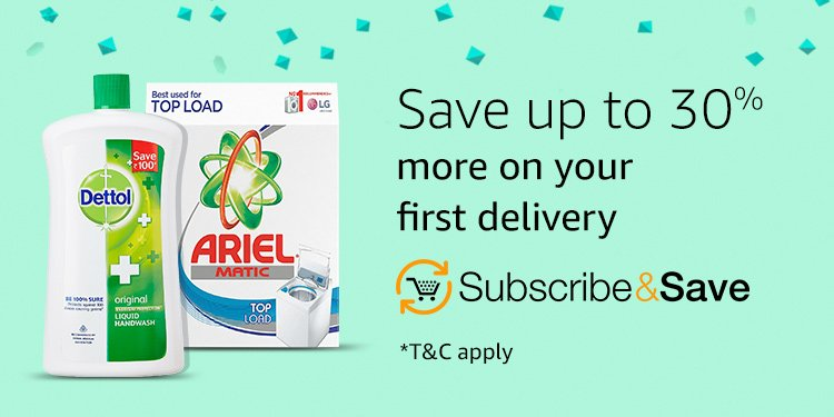 Save up to 30% with Suscribe & Save