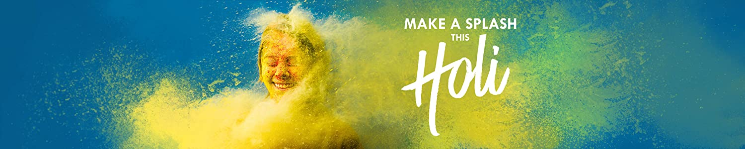 Make a splash this Holi