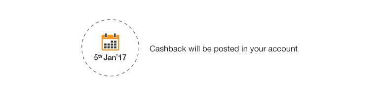 HDFC Cashback Date
