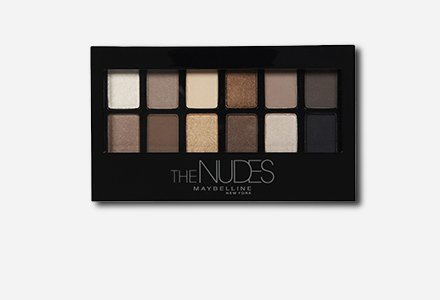 Maybelline New York Nudes, the Nudes Palette 9.6gm