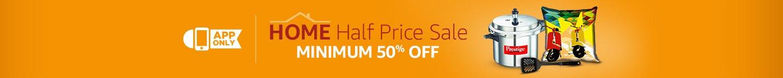 Home Half Price Sale