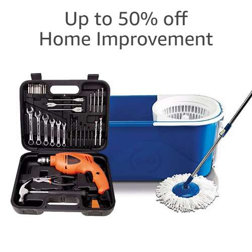 Home Improvement: Up to 50% off
