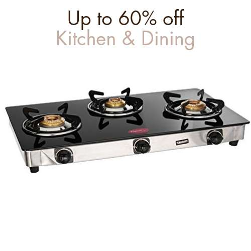 Kitchen & dining: Up to 60% off