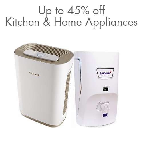 Kitchen & Home Appliances: Up to 45% off